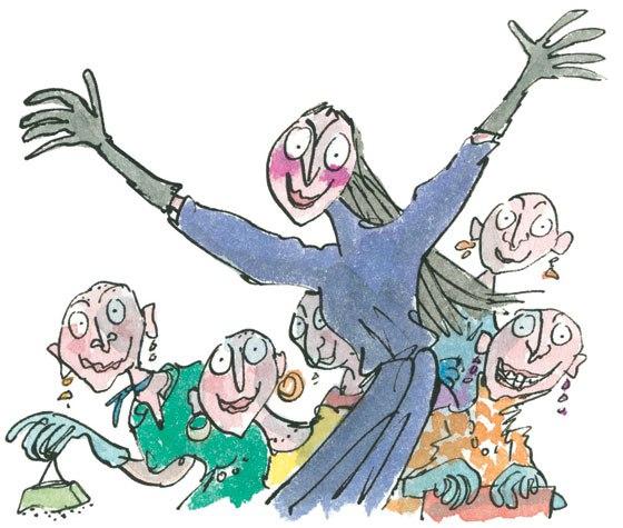 ilustracic3b3n-de-quentin-blake-para-las-brujas